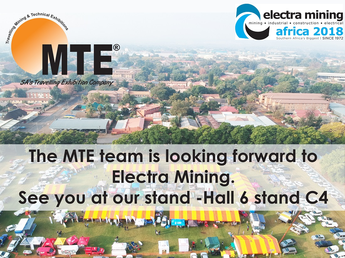 The MTE team is looking forward to Electra Mining.