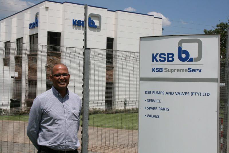 KSB Pumps and Valves SupremeServ division manager, Grant Glennistor. Image credit: KSB