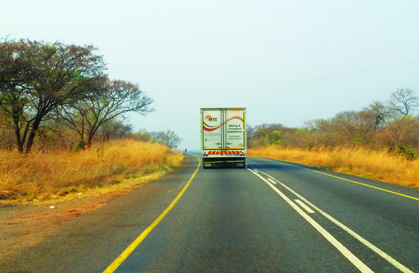 Over the border - Mozambique