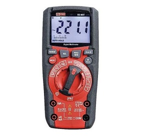 The RS PRO Heavy Duty, IP67 Handheld Digital Multimeter. Image credit: RS Components