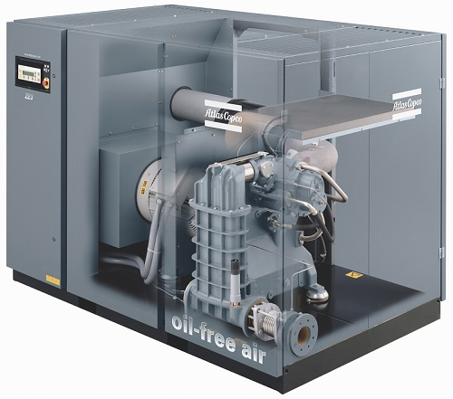 Atlas 'holds up' its new compressor