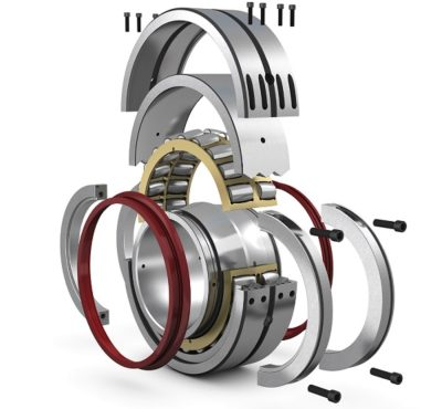 The SKF's Cooper range of split spherical roller bearings offer replacement benefits. Iamge credit SKF
