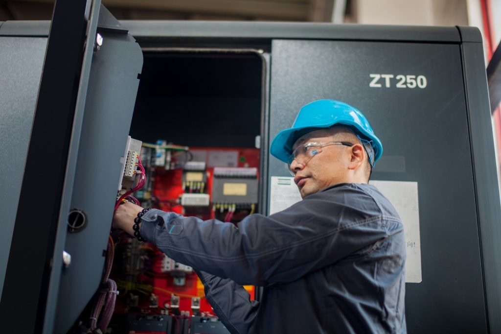 Service and repairs can potentially save costs and reduce downtime on machinery. Image credit: Atlas Copco