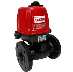 SAFi actuated GRPP ball valve. Image credit: BMG
