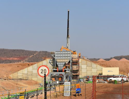 Official opening of Nokeng Fluorspar Mine