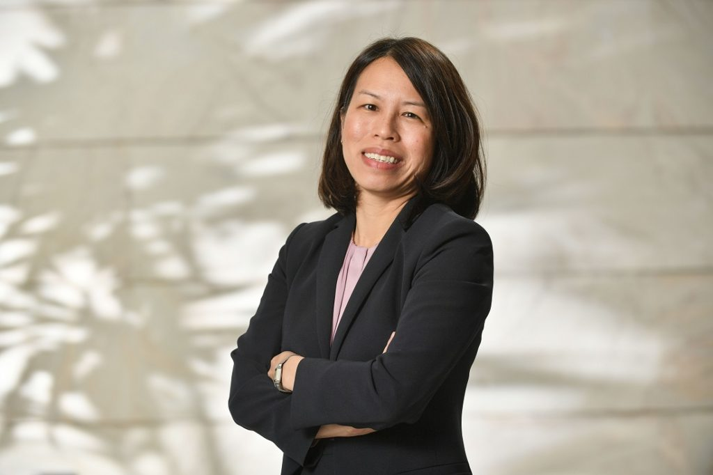 Kathy Khuu is the senior advisor for economic development and local content at Shell. Image credit: Africa Oil Week
