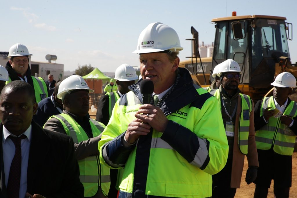 Johan Meyer, executive head projects and technology at Exxaro. Image credit: Exxaro