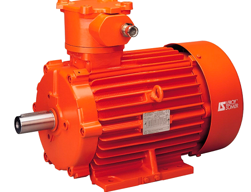Induction motors for hazardous areas