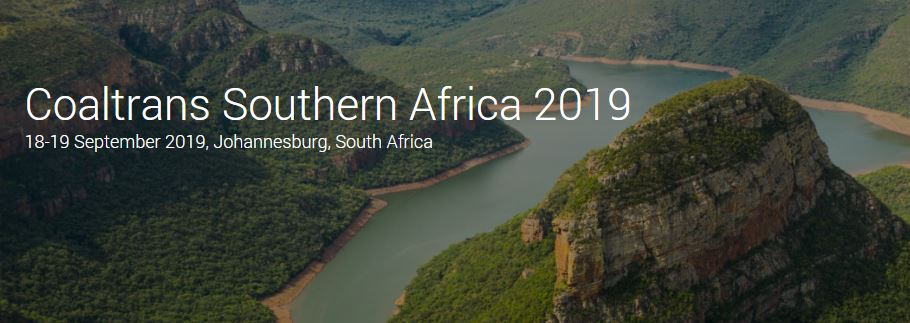 The Coaltrans Southern Africa 2019 conference took place in mid-September. Image credit: Coaltrans