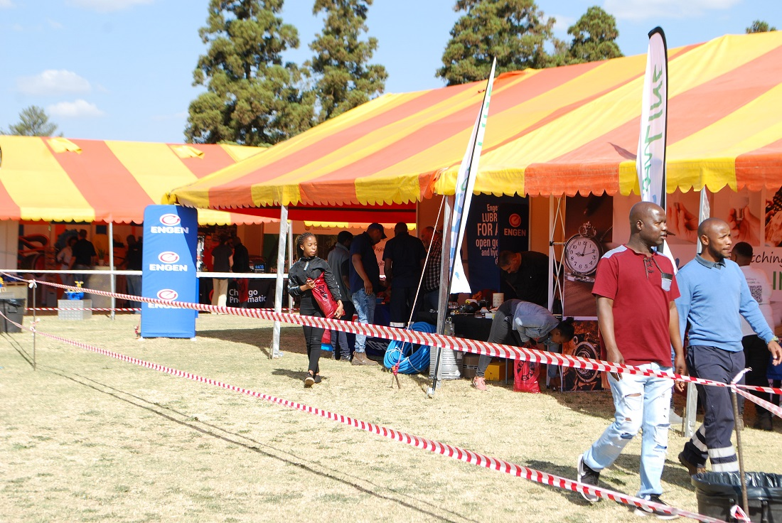 The MTE Sibanye-Stillwater expo was nothing short of a success, attracting over 300 visitors. Image credit: MTE