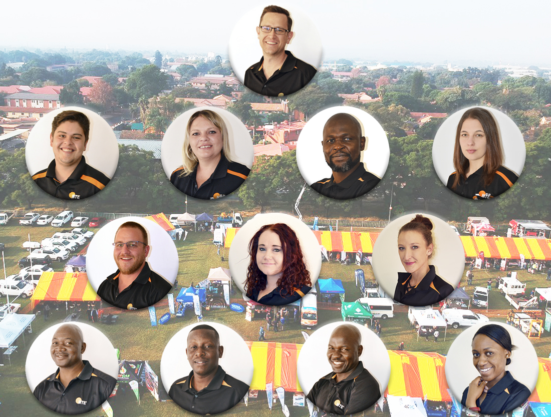 The MTE team responsible for organising and hosting exhibitions throughout the year. Image credit: MTE