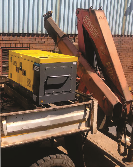 Atlas Copco's Utility compressor range smartly engineered for secure integration on to the back of utility trucks. Image credit: Atlas Copco