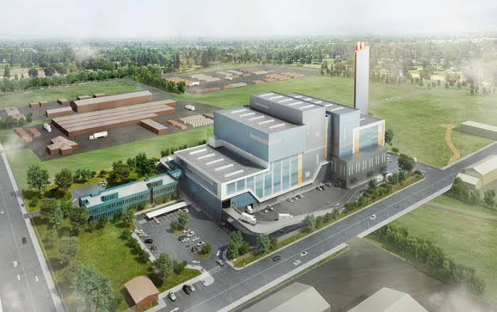 Avertas Energy, Australia's first energy-from-waste facility in Kwinana, Western Australia. Image credit: Avertas