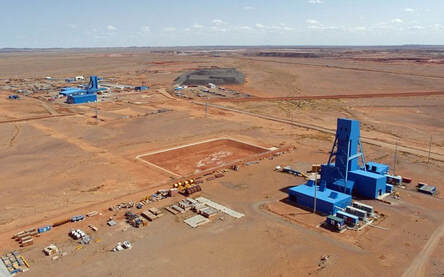 M&R's project in Mongolia that has been impacted by the coronavirus is a contract for Rio Tinto at its Oyu Tolgoi copper and gold mine. Image credit: Ontario Explorations