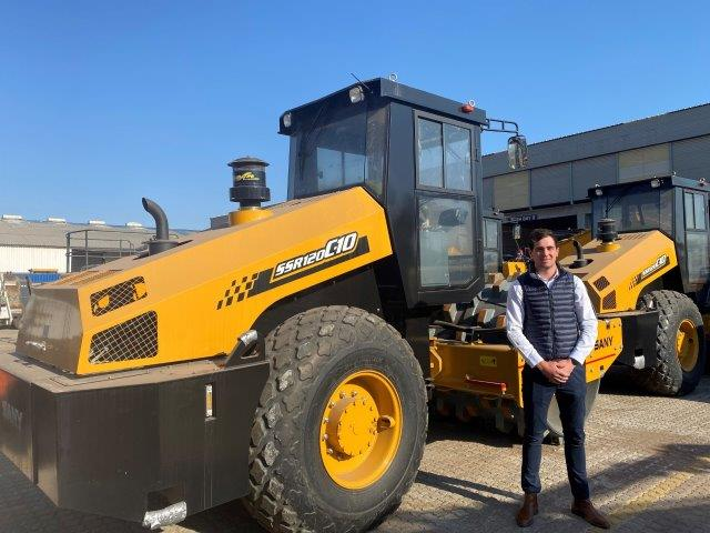 Goskor Earthmoving Equipment has introduced the Sany SSR120C-10 into the South African market. Image credit: Goskor