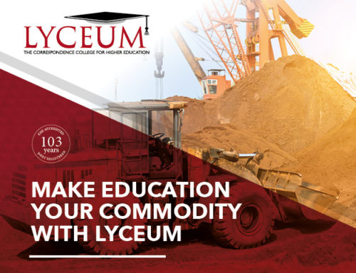 20 August 2020 – Make education your commodity with Lyceum