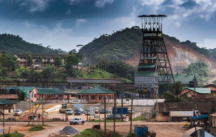 The Bogoso-Prestea gold operations in south-western Ghana. Image credit: Golden Star Resources