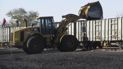 Minergy has delivered six trains of coal to a customer in South Africa post year end. Image credit: Minergy