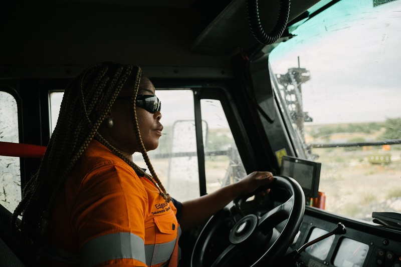 De Beers Group is pioneering advanced driver assistance systems (ADAS) in the mining sector. Photo by De Beers