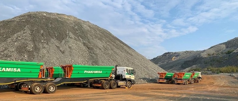 Phakamisa offers a pit-to-port solution for mining companies. Image credit: Phakamisa