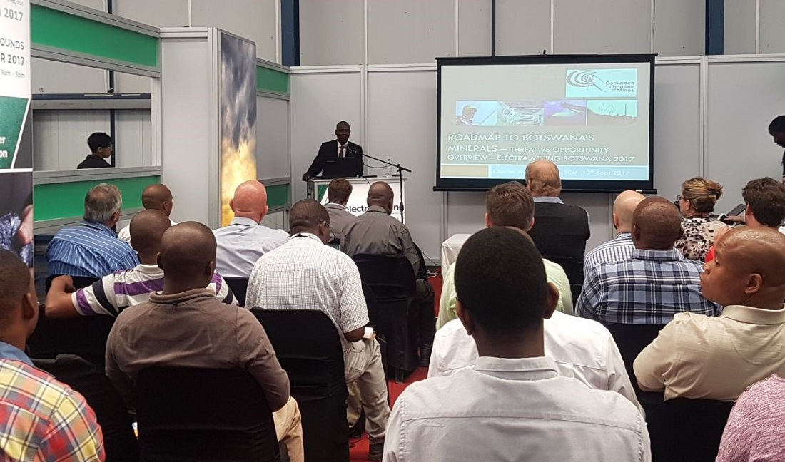 Free-to-attend seminars at Electra Mining Botswana. Image credit: Electra Mining Botswana