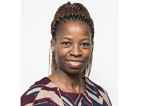 Gloria Lekalakala is the principal for risk and change management at De Beers Group Services. Image credit: De Beers