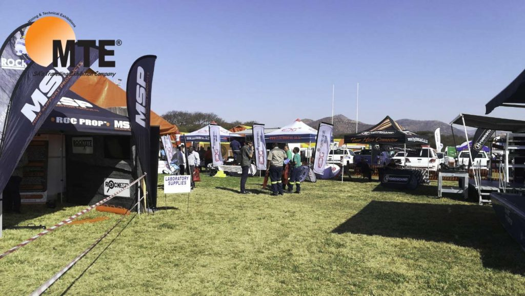 The Mining and Technical Exhibitions (MTE) team is back on the road. Image credit: MTEexhibitions