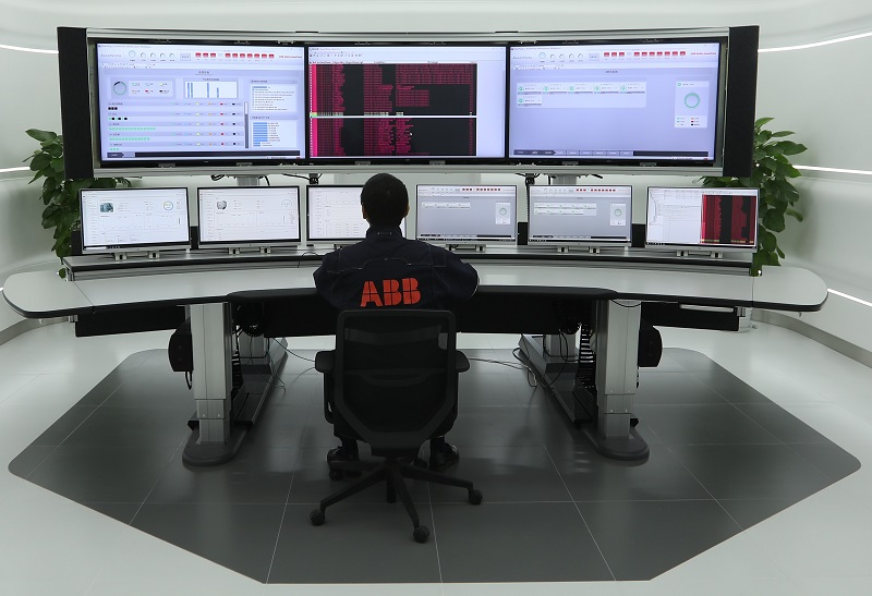 AssetVista set-up in China. Photo by ABB