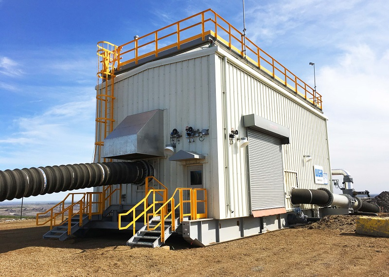 A Weir pumphouse at a customer site in Canada. Photo by Weir