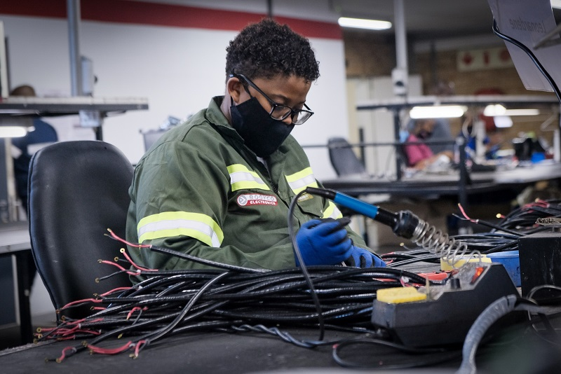 Responsible companies are moving steadily towards safety Level 9 in PDS technology, and embracing local OEM Booyco Electronics' solutions. Image credit: Booyco Electronics