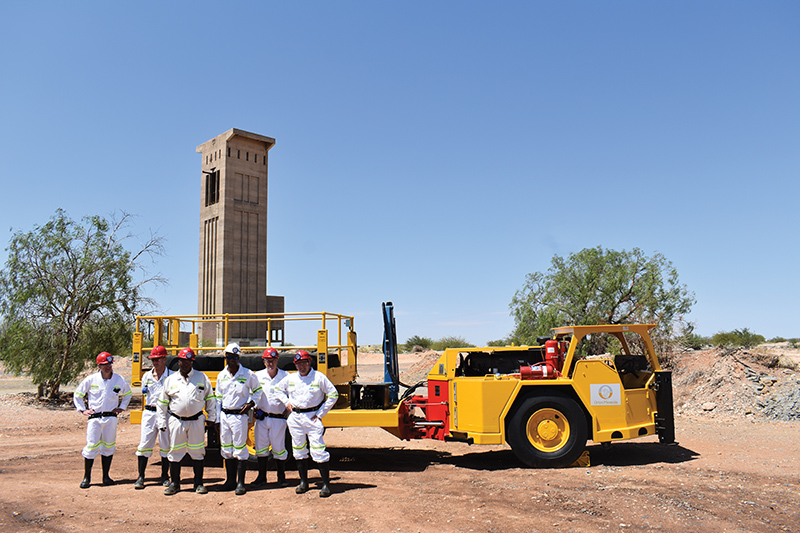 Orion Minerals' Prieska project at Copperton in the Northern Cape Province of South Africa. Photo by Orion Minerals