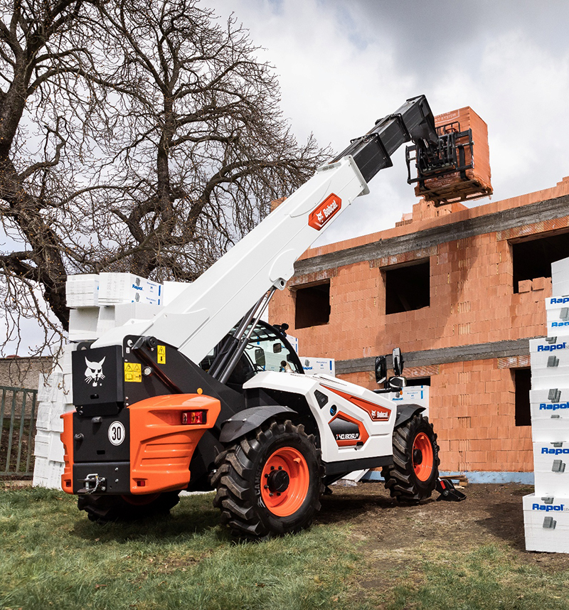 Bobcat is launching the company's new generation R-Series telehandler range for the Middle East, Africa, Russia and CIS markets, providing a choice of 12 models powered by Stage IIIA engines. Photo by Bobcat