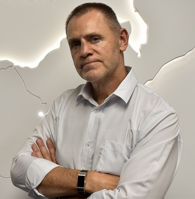 Simon Andrews, managing director at Sandvik Mining and Rock Technology Southern Africa. Photo by Sandvik Mining and Rock Technology Southern Africa
