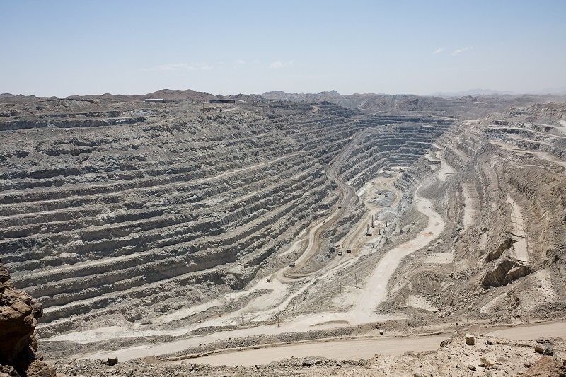 The Rossing uranium mine in Namibia. Photo by: Wikipedia